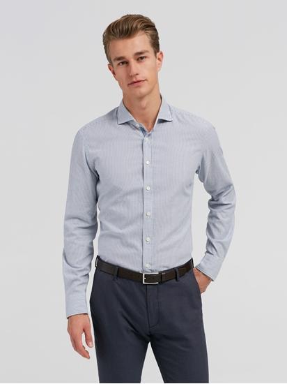 Image sur Chemise Slim Fit avec rayures