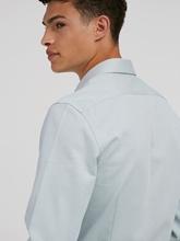 Image sur Chemise Slim Fit à micro-motif FERENE