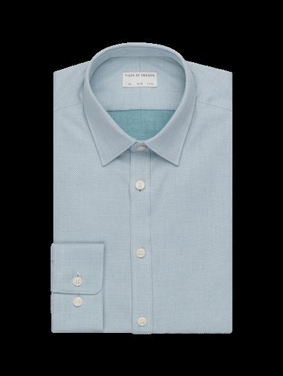 Bild von Hemd im Slim Fit mit Micro-Muster FERENE