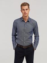 Bild von Hemd mit Micro-Muster im Slim Fit