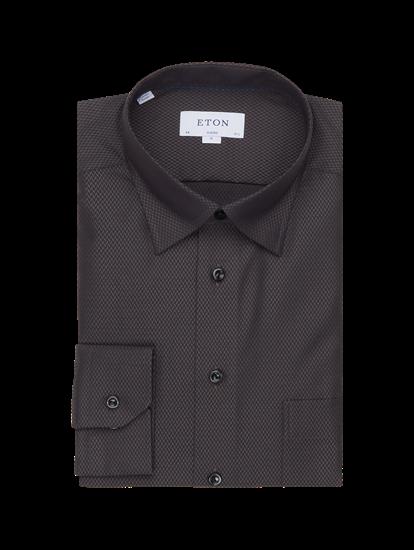 Bild von Hemd im Classic Fit mit Fischgrat-Muster