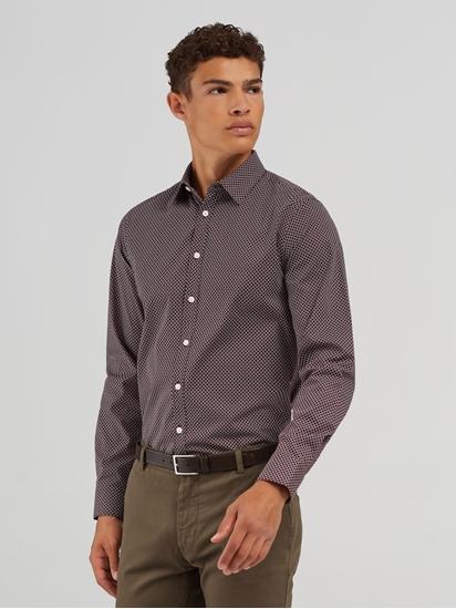 Bild von Hemd im Slim Fit mit Print FERENE