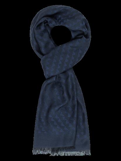 Bild von Schal mit Logo-Musterung