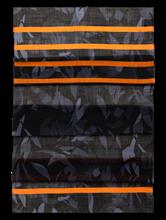 Bild von Schal mit Print und Streifen