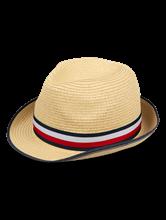 Image sur Chapeau de paille avec ruban