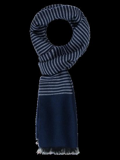 Bild von Schal mit Streifen