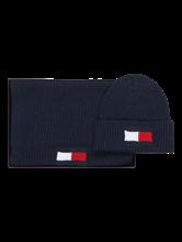 Bild von Set mit Schal und Mütze