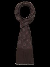 Bild von Schal mit Blumenmuster