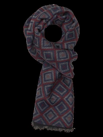 Image sur Echarpe avec motif géométrique