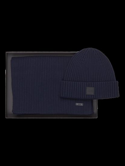 Image sur Ensemble cadeau avec bonnet et écharpe