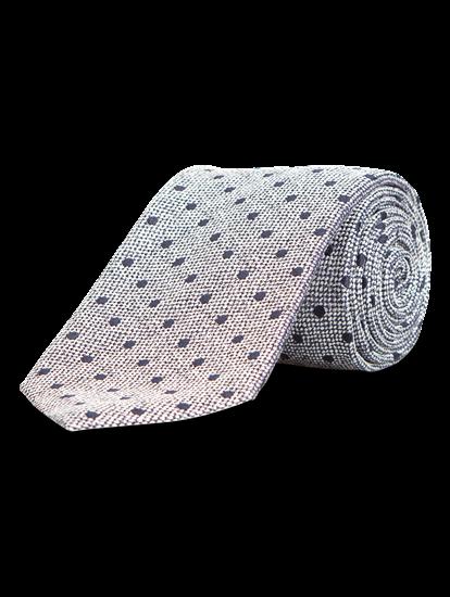 Image sur Cravate à pois