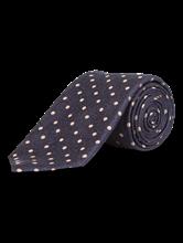 Image sur Cravate à pois texturée