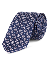 Image sur Cravate motif fleuri