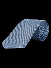 Image sur Cravate à rayures et micro-imprimé