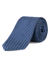 Image sur Krawatte mit Micro-Muster