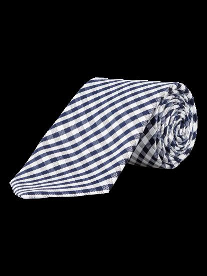 Image sur Cravate à carreaux Vichy