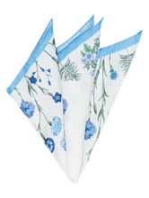 Bild von Pochette mit Blumen-Print