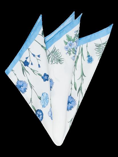 Image sur Pochette avec imprimé fleural