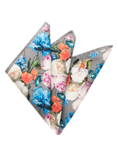 Image sur Pochette imprimé floral