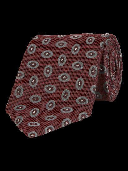 Image sur Cravate à motif géométrique