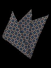 Bild von Pochette mit Fischgrat-Muster und Print