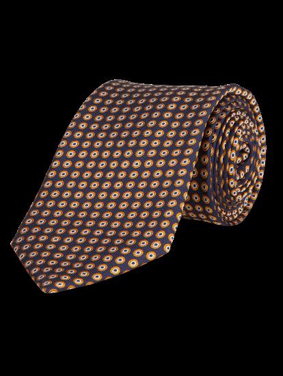 Image sur Cravate avec motif géométrique