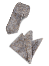 Image sur Ensemble cravatte et pochette