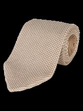 Bild von Krawatte gestrickt in melierter Optik