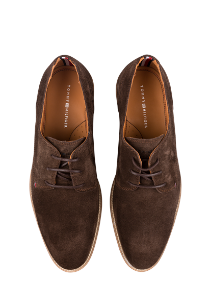 Bild von Derby Schuhe Wildleder