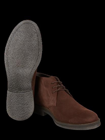 Image sur Chaussures à lacets daim