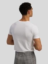 Image sur T-shirt LONG LIFE SOFT avec col en V