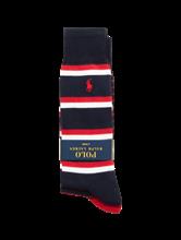 Bild von Socken mit Streifen