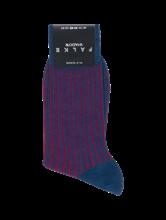Bild von Socken mit Streifen und Rippen SHADOW