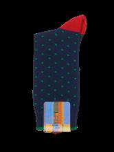 Bild von Socken mit Punkten