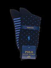 Image sur Pack de 2 paires de chaussettes avec motifs panachés