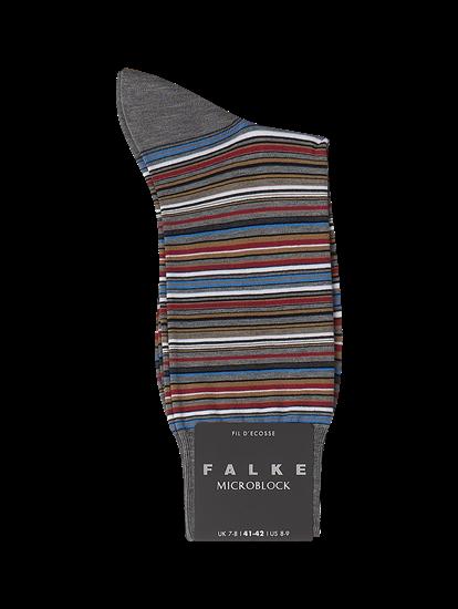 Image sur Chaussettes à rayures MICROBLOCK