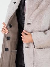 Image sur Manteau mouton réversible