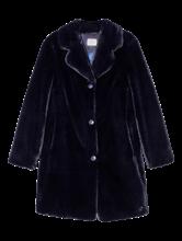 Bild von Mantel aus Fellimitat
