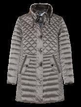 Image sur Manteau doudone et col détachable fausse fourrure