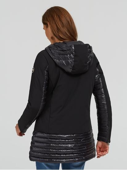 Image sur Manteau doudoune mélange de matières