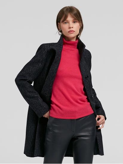 Image sur Manteau laine imprimé léopard