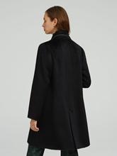 Image sur Manteau laine et application de chaînettes