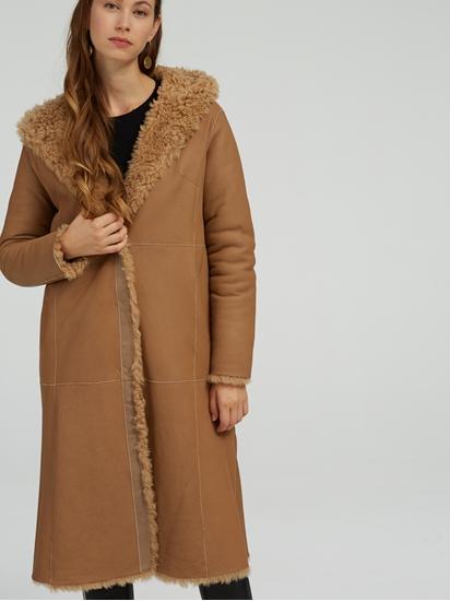 Bild von Mantel aus Lammfell