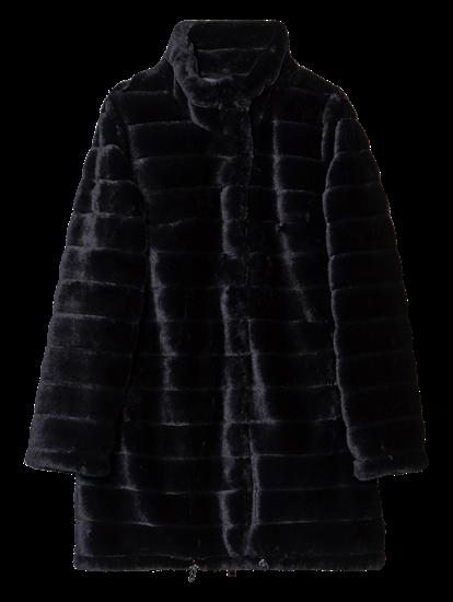 Bild von Mantel aus Kunstpelz