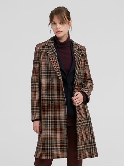 Image sur Manteau motif à carreaux