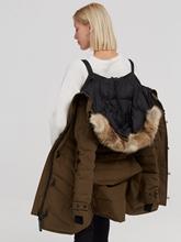Image sur Parka duvet avec col fourrure détachable LORETTE