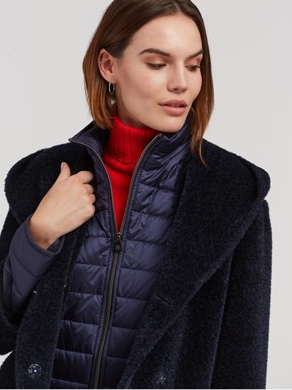 Image sur Manteau laine intérieur ouaté et manches  détachables