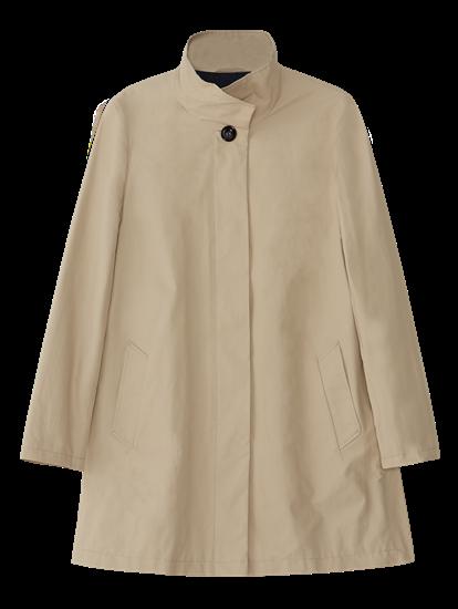 Bild von Mantel mit Stehkragen