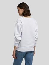 Image sur Sweatshirt avec logo imprimé