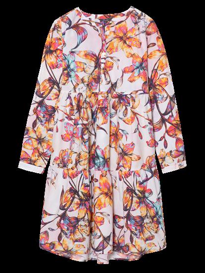 Image sur Robe avec imprimé floral et volants